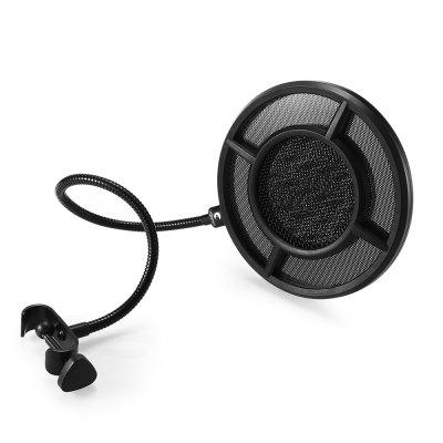 Yanmai PS - 1 Microphone Pop Filter Double Shield ScreenMicrophone<br>Yanmai PS - 1 Microphone Pop Filter Double Shield Screen<br><br>Brand: Yanmai<br>Model Number: PS - 1<br>Package Contents: 1 x Microphone Pop Filter<br>Package Size(L x W x H): 33.00 x 16.00 x 3.70 cm / 12.99 x 6.3 x 1.46 inches<br>Package weight: 0.3520 kg<br>Product weight: 0.2660 kg