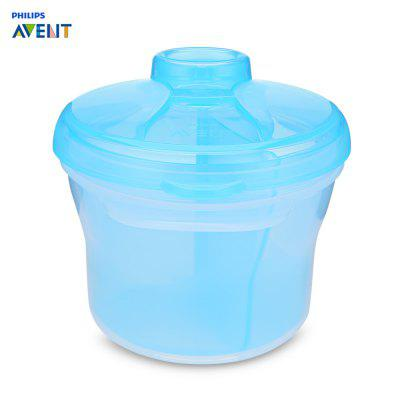 Philips Avent Portable Baby Milk Powder Container 3 Grid Box