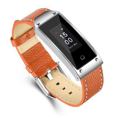 Y2 Blood Pressure Measure Smart BraceletSmart Watches<br>Y2 Blood Pressure Measure Smart Bracelet<br><br>Band material: Genuine Leather<br>Battery Capacity: 105mAh<br>Battery Type: Lithium Polymer Battery<br>Bluetooth Version: Bluetooth 4.0<br>Case material: Alloy<br>Compatability: Android 4.4 / iOS 8.0 and above system<br>Compatible OS: IOS, Android<br>Functions: Measurement of heart rate, Find your phone, Notification of app, Pedometer, Sedentary reminder, Sleep management, SMS Reminding, Distance recording, Date, Camera remote control, Calories burned measuring, Call reminder, Alarm Clock<br>Language: English,French,German,Itanlian,Japanese,Korean,Portuguese,Russian,Simplified Chinese,Spanish,Traditional Chinese,Vietnamese<br>Package Contents: 1 x Smart Bracelet, 1 x USB Charging Cable, 1 x Multiple Languages User Manual<br>Package size (L x W x H): 16.50 x 8.50 x 6.00 cm / 6.5 x 3.35 x 2.36 inches<br>Package weight: 0.1430 kg<br>People: Female table,Male table<br>Product size (L x W x H): 25.00 x 2.00 x 1.00 cm / 9.84 x 0.79 x 0.39 inches<br>Product weight: 0.0310 kg<br>Screen type: TFT<br>Shape of the dial: Rectangle<br>Standby time: About 26 days<br>The band width: 1.6 cm / 0.63 inch<br>The dial diameter: 2 cm / 0.79 inch<br>The dial thickness: 1 cm / 0.39 inch<br>Waterproof: Yes<br>Waterproof Rating: IP67<br>Wearable length: 18 - 22.5 cm / 7.09 - 8.86 inch