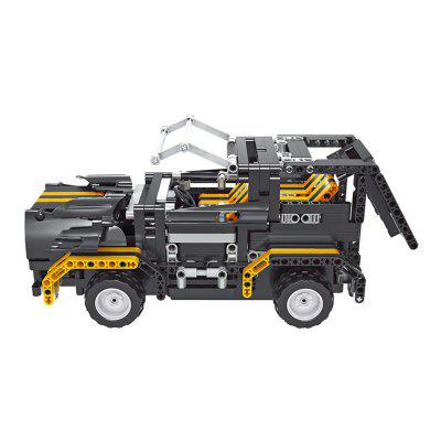 Remote Control All Terrain Tow Truck Pickup Building Block 497pcs
