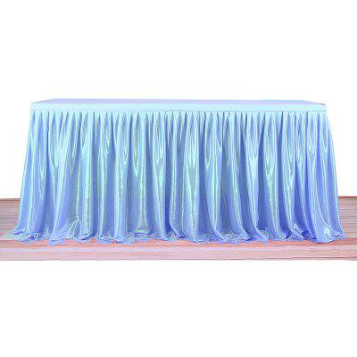 Tulle Table Skirt Tablecloth for Wedding Party Home Decor
