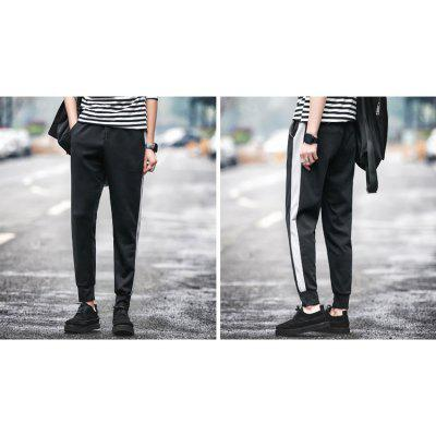 Autumn And Winter Elasticity Mens Casual Pants Large Size Stretch Stripes Upon Haren SlacksMens Pants<br>Autumn And Winter Elasticity Mens Casual Pants Large Size Stretch Stripes Upon Haren Slacks<br><br>Closure Type: Drawstring<br>Fit Type: Loose<br>Front Style: Flat<br>Material: Cotton<br>Package Contents: 1 x  Harem Pants<br>Pant Length: Long Pants<br>Pant Style: Harem Pants<br>Style: Casual<br>Waist Type: Mid<br>Weight: 0.4800kg<br>With Belt: No