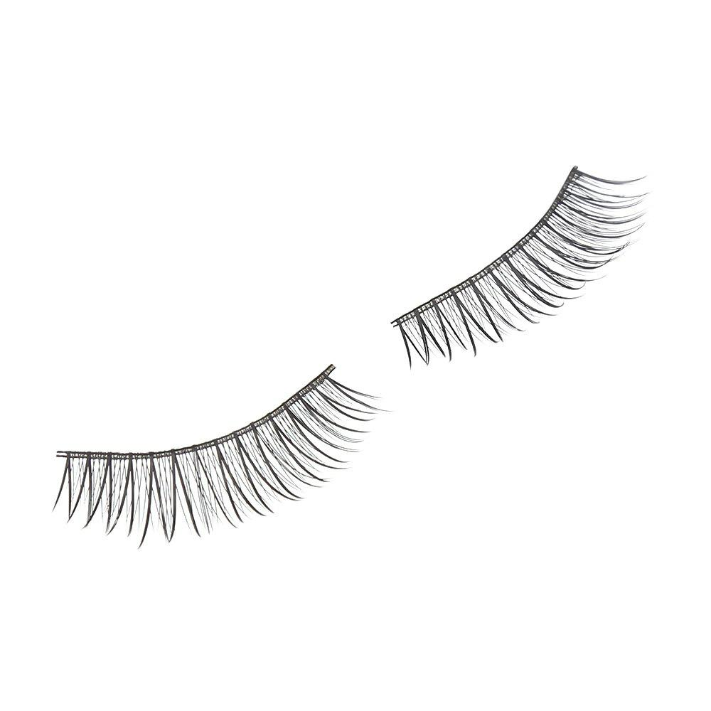 1 Pair Cosmetic Natural False Eyelashes Mink Cross Extension
