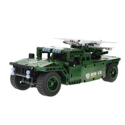 RC Military Armored Car Building Block Toy 506pcs