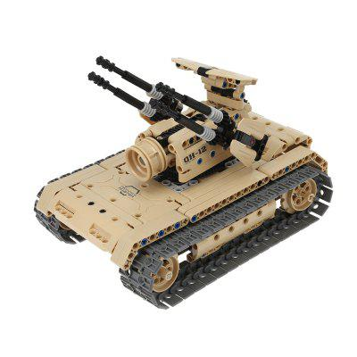 Military Remote-controlled Tank Building Block Toy 457pcs