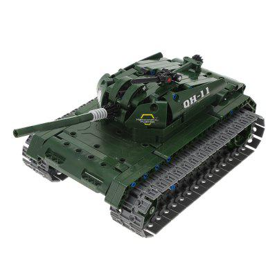 Military Remote-controlled Tank Building Block Toy 453pcs