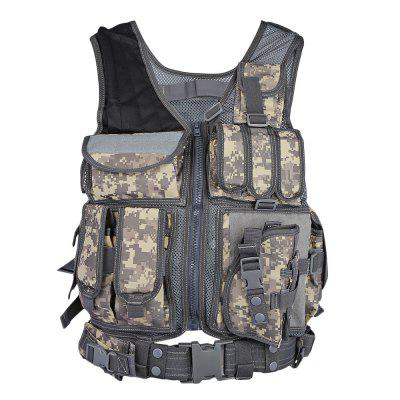 Caça Tactical Molle Paintball Combat Soft Vest