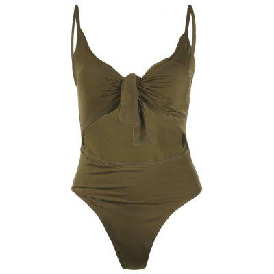 Sexy One Piece Swimsuit Women Swimwear Solid Monokini