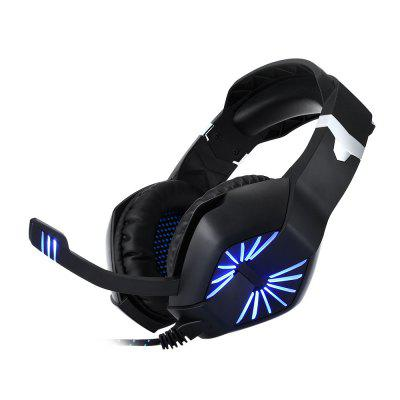 A1 LED Light Over-ear Stereo Gaming Headset 2.2m Cable