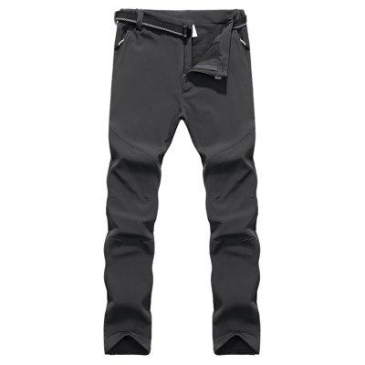 Men Outdoor Pants Warm Water-resistant Windproof TrousersMens Pants<br>Men Outdoor Pants Warm Water-resistant Windproof Trousers<br><br>Closure Type: Elastic Waist<br>Fit Type: Straight<br>Front Style: Flat<br>Material: Polyester<br>Package Contents: 1 x Pair of Pants, 1 x Waist Belt<br>Pant Length: Long Pants<br>Pant Style: Straight<br>Style: Active<br>Waist Type: Mid<br>Weight: 1.1000kg<br>With Belt: Yes