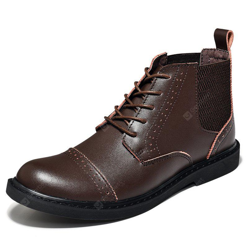 Best Martin Boots Men Boots Men'S Boots Real Leather Boots High Shoes  EL92