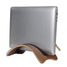 SAMDI Wood Laptop Holder Portable Stand for Mac Air / Pro