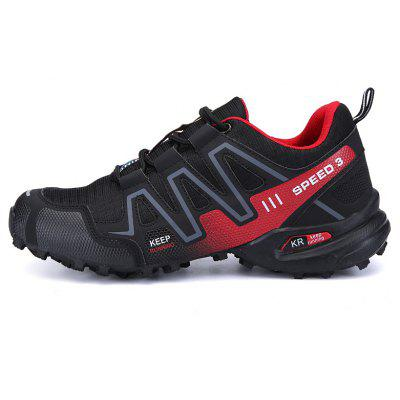 Hiking Men Running Shoes Sport Outdoor Jogging Walking Athletic Sneakers apple brand men breathable air mesh running shoes weaving outdoor athletic zapatillas sport jogging sneakers walking shoes