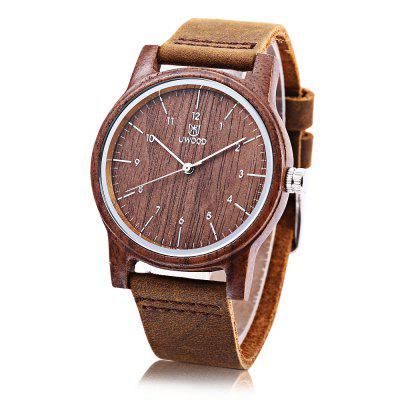UWOOD 1008 Unisex Quartz Watch