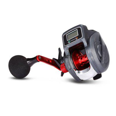 SHA300 13+1 Ball Bearing Fishing Reel with Digital Display