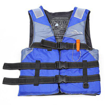KEEPDIVING Outdoor Lifesaving Reflective Patch Life Jacket