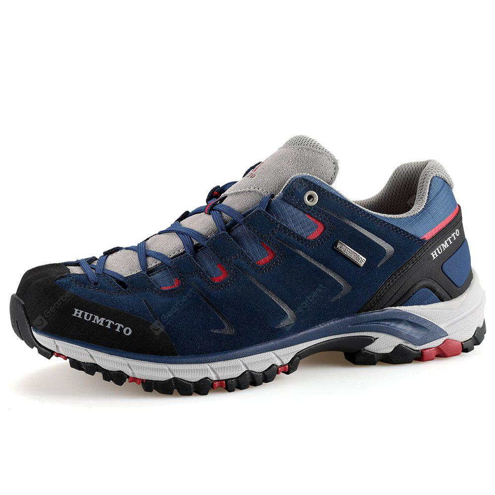 HUMTTO Walking Shoes Men Rubber Sneakers Trekking Shoes