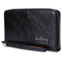 Baellerry Stylish PU Leather Card Holder Men Clutch Wallet