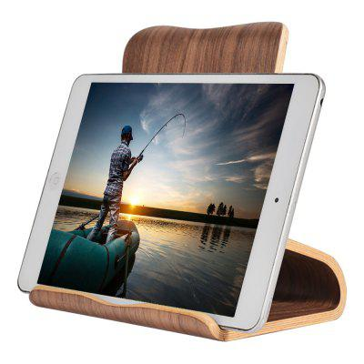 SAMDI Wood Tablet Computer Holder Stand de madeira para iPad