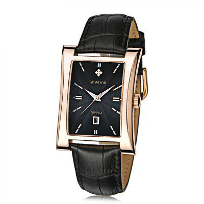 WWOOR 8017 Men Quartz Watch