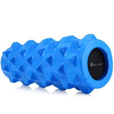 Buy MILY SPORT PU Skin EVA Yoga Fitness Foam Roller Physio Block ROYAL BLUE for $21.66 in GearBest store