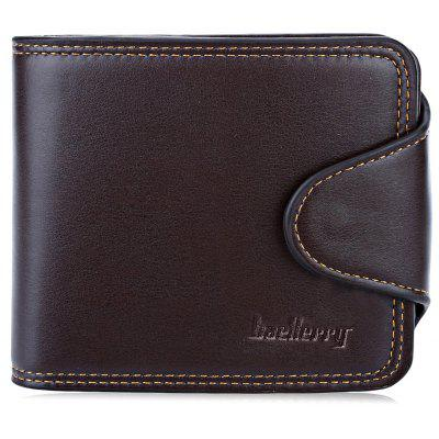 Baellerry Thread Horizontal Cash Coin Photo Card Clutch Wallet