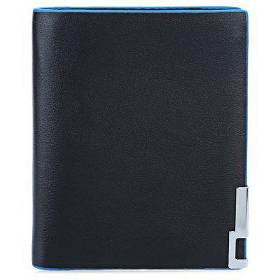 Baellerry Pure Color Men Short Open Cash Photo Card Wallet