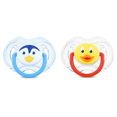 Philips Avent 2pcs Silicone Baby Nipple Pacifier Infant Soother