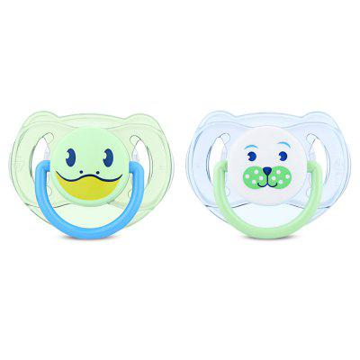 Philips Avent 2pcs Silicone Animal Baby Pacifier Infant Soother