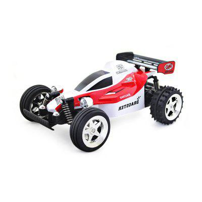 HUANQI 545 4CH 2WD 11.5KM/H Remote Control Crossing Car- RED WITH WHITE