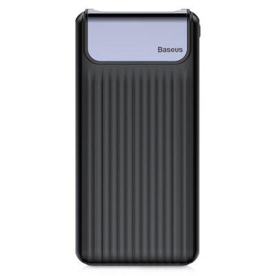 Baseus Thin Digital 10000 mAh Energienbank QC 3.0 Dual USB