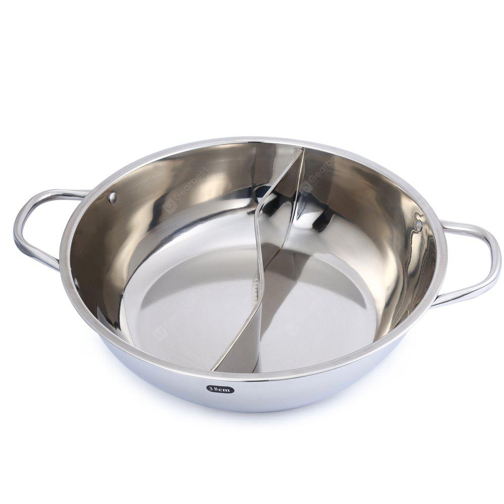 38cm Stainless Steel Duck Hot Pot