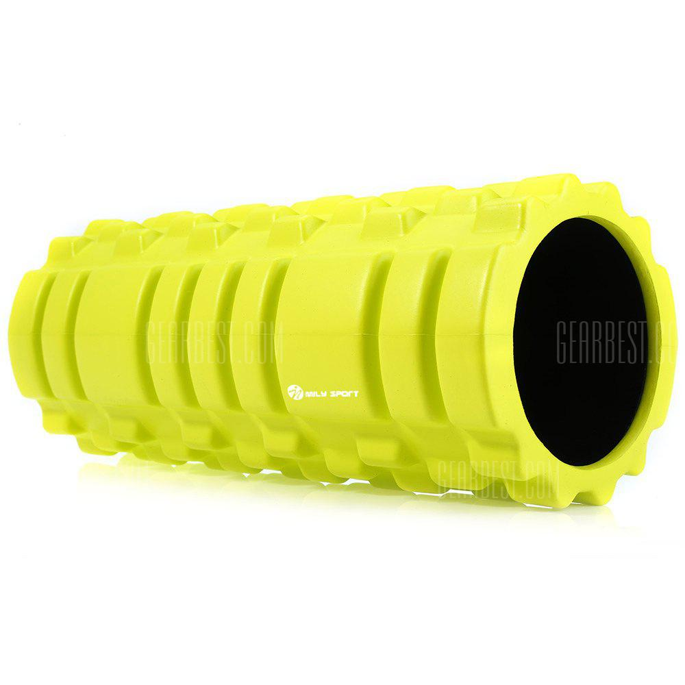 NEON GREEN MILY_SPORT EVA Point Yoga Foam Roller
