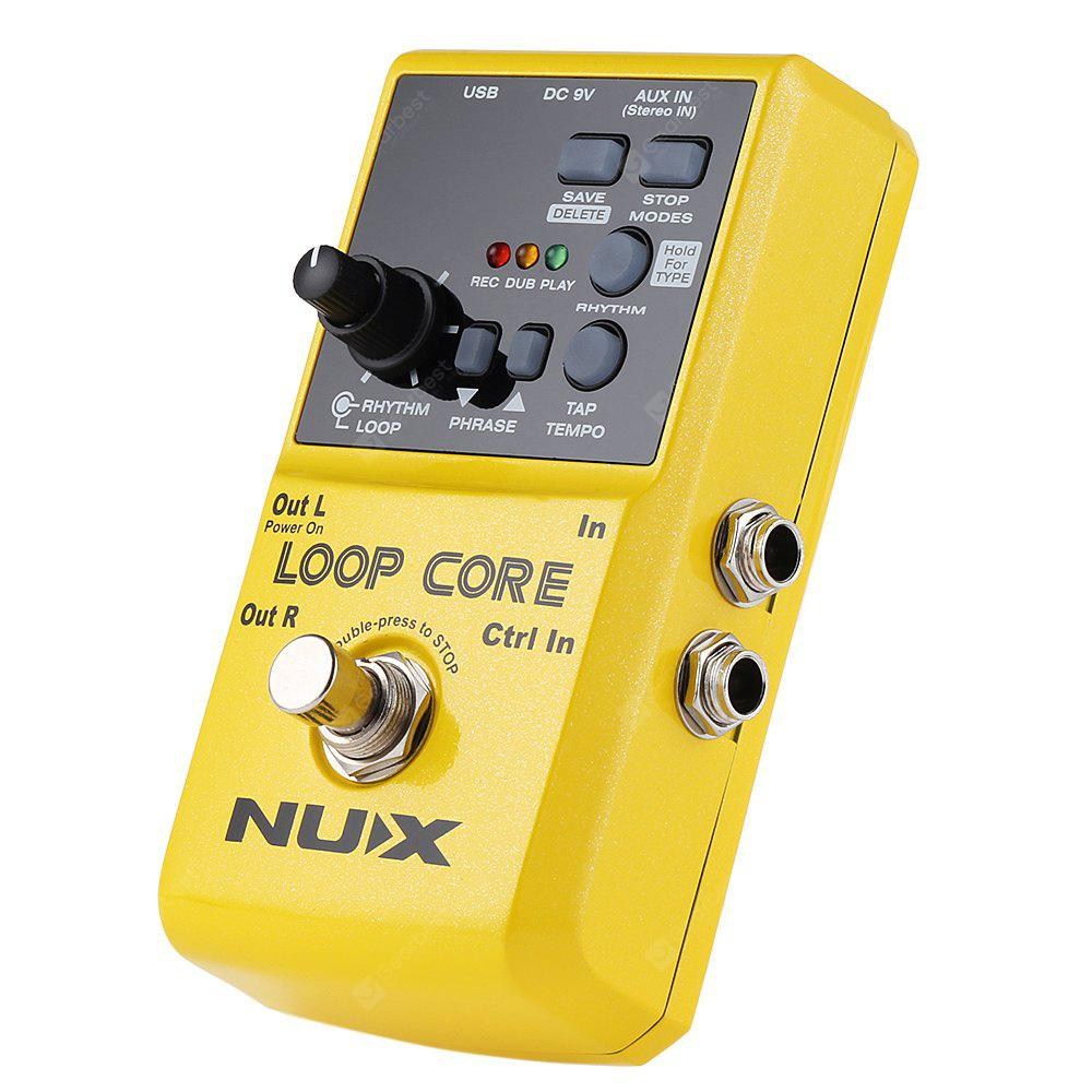Nux Loop Core Guitar Effect Pedal 17789 Free Shipping 1 4 Jack Wiring