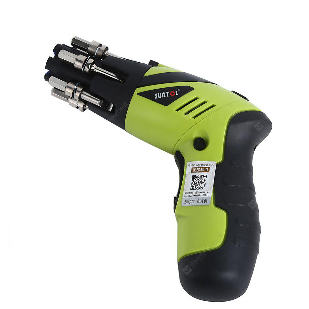 SUNTOL 131BT 3.6V Lithium-ion Battery Drill Electric Household Screwdriver Tool