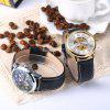 Forsining A694 Male Hollow Automatic Mechanical Watch - BLACK