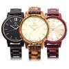 UWOOD UW - 1002 Men Wooden Quartz Watch - BROWN