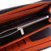 Baellerry Stylish PU Leather Card Holder Men Clutch Wallet - PRETO