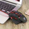 HXSJ X200 USB Wired Programmable Macro Gaming Mouse - BLACK