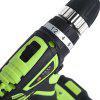 SUNTOL 12V Multi-function Lithium-ion Battery Electric Drill - BLACK AND GREEN