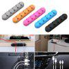 ORICO 5PCS Desktop Cable Organizer Silicone Cord Holder Clip - COLORMIX