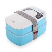 CNCROWN Plastic Bento Lunch Box