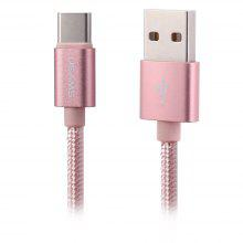 2M USAMS Type-C to USB 2.0 Charge Cable