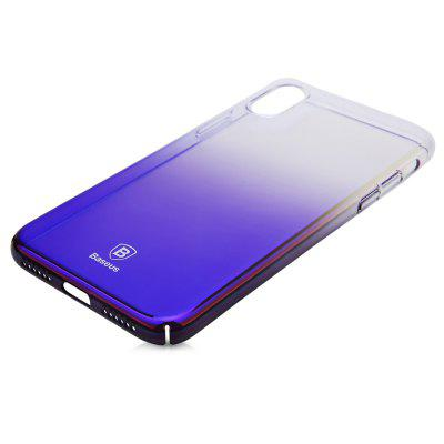 Baseus Glaze Case Ultra Slim PC Back Cover for iPhone X
