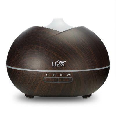U2C 450ml Essential Oil Diffuser Wood Grain Humidifier