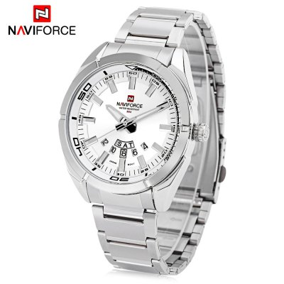 Naviforce NF9038M Male Quartz WatchMens Watches<br>Naviforce NF9038M Male Quartz Watch<br><br>Band Length: 8.66 inch<br>Band Material Type: Stainless Steel<br>Band Width: 20mm<br>Case material: Alloy<br>Case Shape: Round<br>Clasp type: Folding Clasp<br>Dial Diameter: 1.73 inch<br>Dial Display: Analog<br>Dial Window Material Type: Hardlex<br>Feature: Luminous, Day, Date<br>Gender: Men<br>Movement: Quartz<br>Package Contents: 1 x Naviforce NF9038M Male Quartz Watch<br>Package Size(L x W x H): 12.00 x 6.00 x 2.00 cm / 4.72 x 2.36 x 0.79 inches<br>Package weight: 0.1420 kg<br>Product Size(L x W x H): 22.00 x 5.00 x 1.00 cm / 8.66 x 1.97 x 0.39 inches<br>Product weight: 0.1200 kg<br>Style: Business<br>Water Resistance Depth: 30m