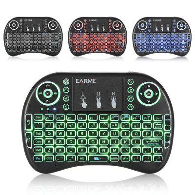 EARME KP - 21D Mini Wireless Keyboard with USB Cable