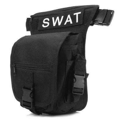 Water-resistant Tactical Leg Bag with Multi-pocket Design