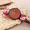 REDEAR 1692 Women Quartz Wooden Watch - WHITE