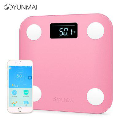 YUNMAI Mini Body Fat Smart Digital Weight Scale with App